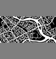 abstract city map banner vector image vector image