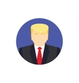 Presidential candidate Icon Usa election 2016 vector image vector image