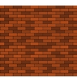 Seamless brick wall background vector image vector image