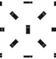 wooden window pattern seamless black vector image vector image