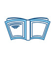 book and education symbol vector image vector image
