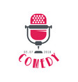 Comedy logo design element for comedy show poster