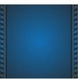 Denim background vector image vector image