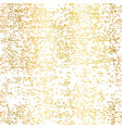 gold foil grunge texture seamless vector image vector image