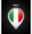 italy flag design vector image vector image