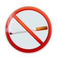 no-smoking-sign vector image vector image