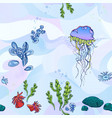 ocean-pattern vector image