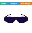 poker sunglasses icon vector image