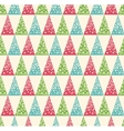 Seamless Winter Pattern with Stylized Decoration vector image