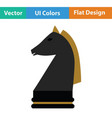 chess horse icon vector image