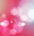 Abstract Bokeh Light Pink Background vector image