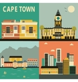cape town city vector image vector image