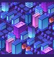 conceptual urban seamless vector image vector image