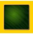 Old Blank Green School Chalkboard vector image vector image