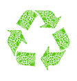 recycle arrow vector image vector image