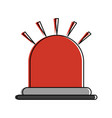 siren or beacon icon image vector image vector image