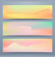 texture color cover for postcard set set vector image vector image