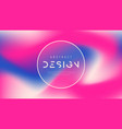 abstract colorful background trendy vector image