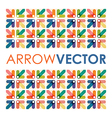arrow square vector image vector image