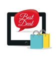 best deal online bubble bag gift vector image vector image