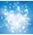 Christmas abstract blue background vector image vector image