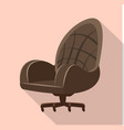 isolated object of furniture and work symbol vector image vector image