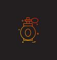 makeup icon design vector image