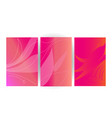 pink love background theme vector image vector image
