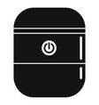 system smart speaker icon simple style vector image vector image