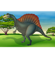 The Spinosaurus vector image vector image