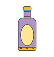 wine bottle liquor to special celebration vector image vector image