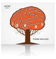 creative tree sign vector image vector image