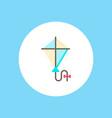 kite icon sign symbol vector image