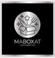 magic food box logo vector image vector image