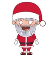 Santa cartoon of Merry Christmas vector image vector image
