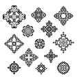 set different ethnic signs vector image