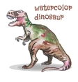 Watercolor dinosaur