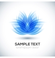 Flower shape Lotus vector image