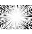 comic book radial lines comics background vector image vector image
