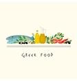 Greek Diet Image vector image