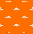 nature pattern orange vector image vector image