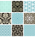 set backgrounds vector image vector image