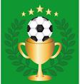 soccer design vector image vector image