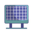 solar energy to protection and enviroment care vector image vector image