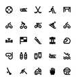 Sports and Games Icons 9 vector image