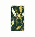 batik phonecase 15 vector image vector image