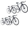 bike print fashion trend men junior kids vector image vector image