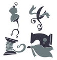 craft and fashion vector image vector image