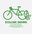Ecologic Driving Concept vector image vector image