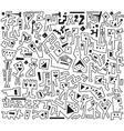 jazz doodles vector image vector image